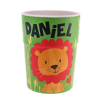 History & Heraldry Bamboo Crew Beaker Lions & Tigers Daniel