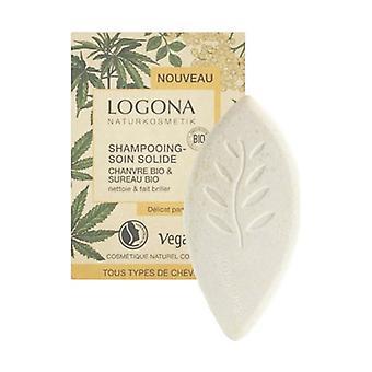 Fast organisk hampa och fläderschampo 60 g