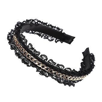 Fashion Gold Chains Hair Bands Hoop