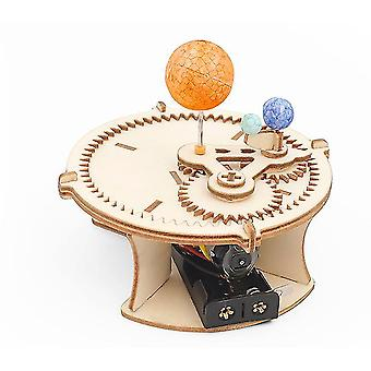 Lapset diy aurinko-kuu-maa maantiede malli tieteellinen kokeilu lelusarjat az9490