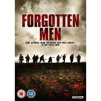 Bortglömda män DVD