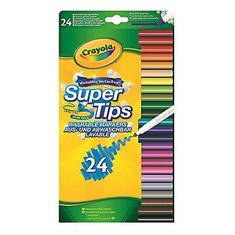 felt-tip pens Crayola Washable (24 uds)