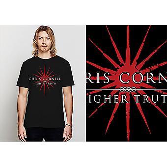 Chris Cornell - T-shirt alta unisex grande verità - Nero