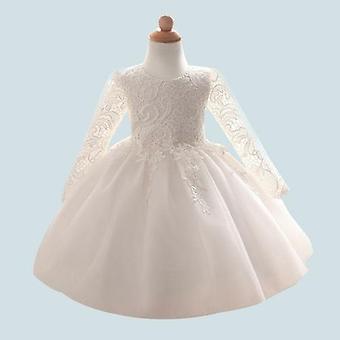 שמלת תינוק חדשה סתיו וחורף, מאה ימים של גיל תחרה חתונה