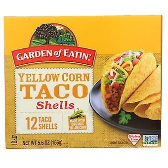 حديقة Eatin تاكو شل الأصفر، حالة من 12 × 5.5 أوقية