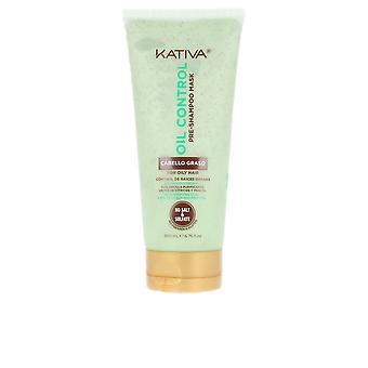 Kativa Oil Control Pre-schampo Mask 200 Ml för kvinnor