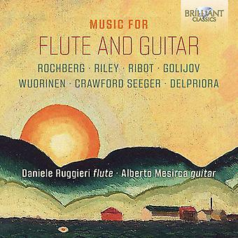 Music For Flute & Guitar [CD] USA import