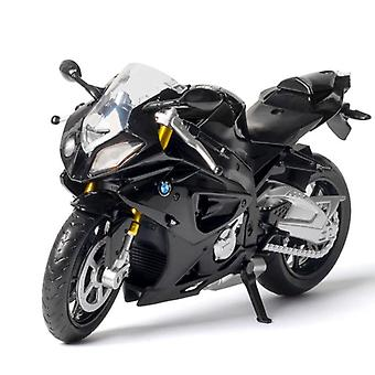 1:12 Bmw s1000rr race motorfietsen simulatie legering motorfiets model met geluid en licht