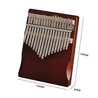 17 مفاتيح كاليمبا الصنوبر آلة موسيقية الإبهام إصبع البيانو كاليمبا عالية الجودة للمبتدئين