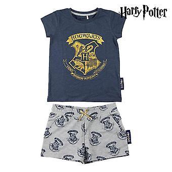 Conjunto de roupas Harry Potter Azul