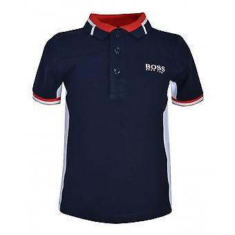 Hugo Boss Boys Hugo Boss Infant Boy's Navy Kurzarm-Poloshirt.