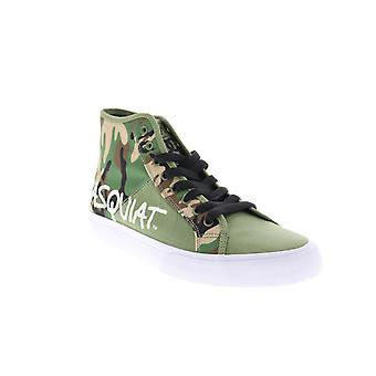 DC Voksen Mens Basquiat Manuell Hi Samarbeid &Begrenset Sneakers