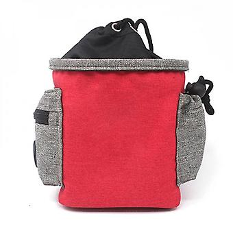 Dog Treat Bag All-in-one Pet Training Bag Multicolor