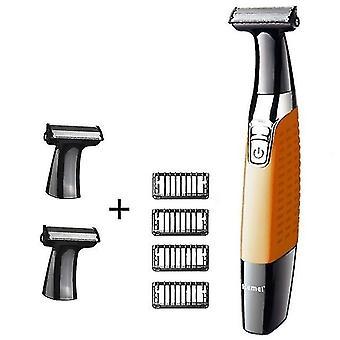 Afeitadora de cuerpo lavable de una hoja afeitadora de cara afeitadora eléctrica para hombre maquinilla de afeitar hombre limpieza de cabello afeitadora barba