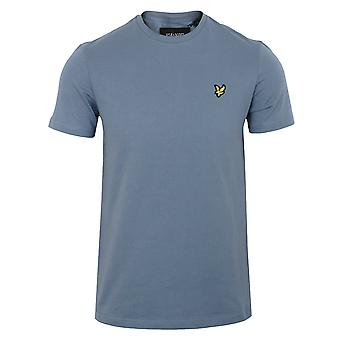 Lyle & scott men's slate blue t-shirt
