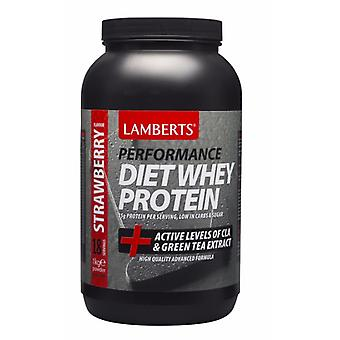 Lamberts Diet Whey Protein Strawberry 1000g