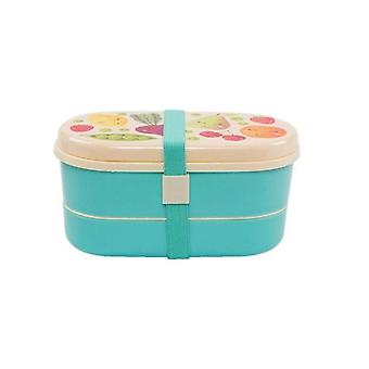 Household storage containers happy fruit veg bento lunch box
