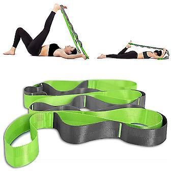 Jooga venytyshihnat fysioterapiaan, pilates, venyttely Harjoitusnauhat Elastiset Multi Loopit
