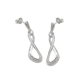 Stud Earrings With Zirconias Silver 925 39716 39716 39716