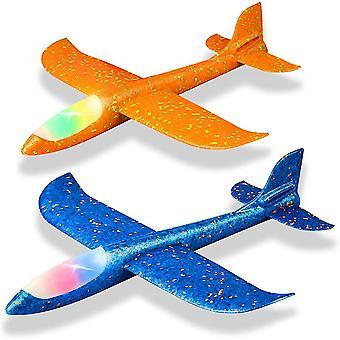 Forme d'avion léger à LED