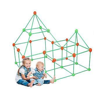 Constructii Fort Building Kituri pentru copii Diy Construirea Cetate Construirea Castele