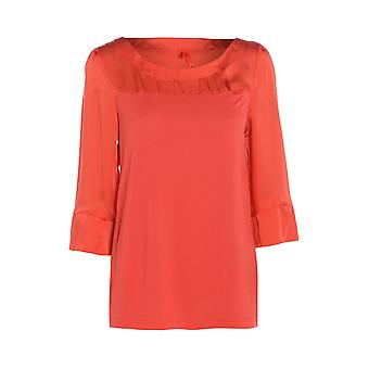 Next Orange Three Quarter Sleeve Blouse