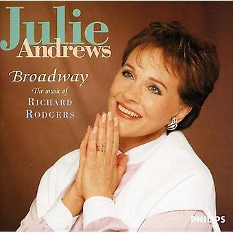 Julie Andrews - Broadway-musik av Richard Rodg [CD] USA import