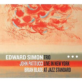 Edward Simon Trio - Trio Live in New York at Jazz Standard [CD] USA import