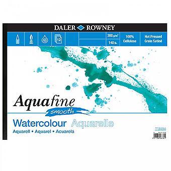 Daler Rowney Aquafine slät pad 140lb A3