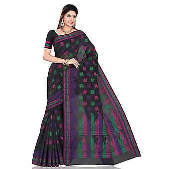 Púrpura de desgaste del partido Sari de la india Saree Bellydance tela envoltura