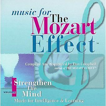 Don Campbell - Music for the Mozart Effect, Vol. 1: Strengthen the Mind [CD] USA import