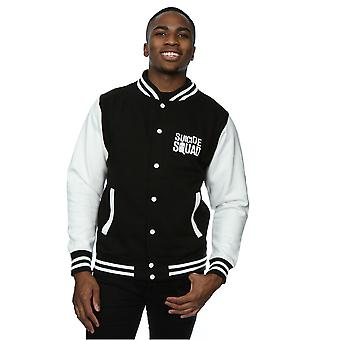 Suicide Squad Men's Deadshot Icon Varsity Jacket