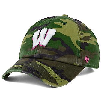 Wisconsin Badgers NCAA 47' marque «Fashion» nettoyer le chapeau réglable