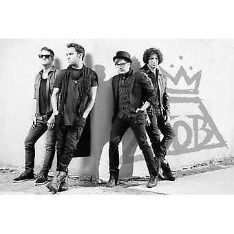 Fall Out Boy улице углу Плакат Плакат Печать