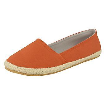 Damen-Fleck auf flachen Slip-on Schuhe F2206