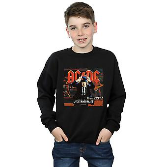 AC/DC Boys Live At River Plate Columbia Records Sweatshirt