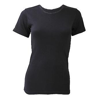 FLOSO Ladies/Womens Thermal Underwear Short Sleeve T-Shirt/Top (Standard Range)