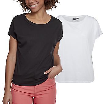 Urban classics ladies - BASIC pudota olkapää ylimitoitettu paita