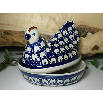 Chicken as egg, 2nd choice, 17 x 11 cm, 14 cm high, 80 - BSN 62817 tradition