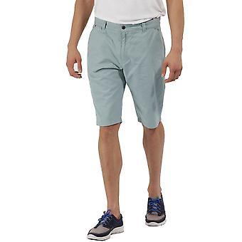 レガッタ メンズ サルバドル Coolweave 綿カジュアルなショート パンツを歩く