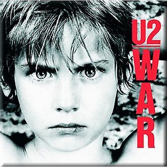 Guerre de Magnet frigo U2 garçon nouveau officiel 76 x 76 mm