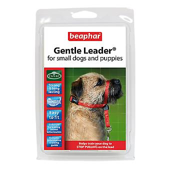 BEAPHAR GENTLE LEADER FOR SMALL DOGS AND PUPPIES S, RED LEAD