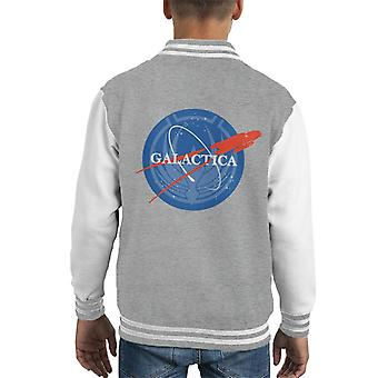 Galactica Nasa Mix Kid's Varsity Jacket