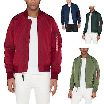 Alpha Industries Herren Bomberjacke MA-1 TT Long