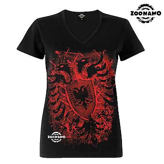 Zoonamo T-Shirt ladies classic for Albania