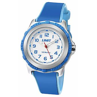 Limit Kids Active Blue Resin Strap White Dial 5600.24 Watch