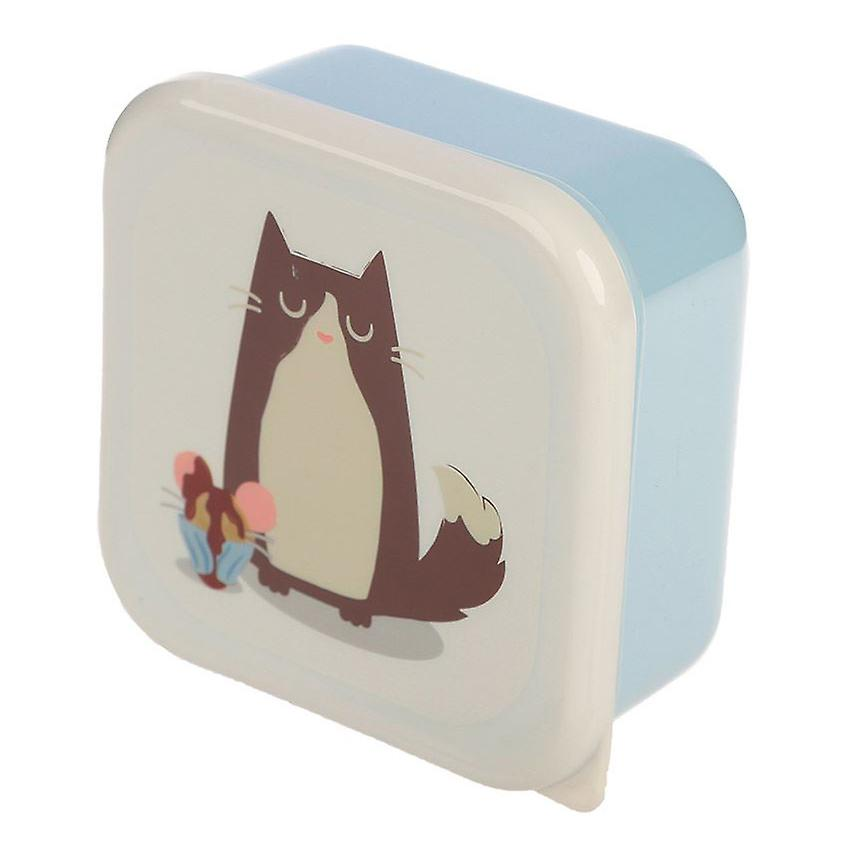 Puckator Feline Fine Cat Set of 3 Lunch Boxes