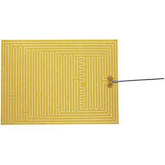 Chauffage de Polyester thermo clinquant auto-adhésif 12 v C.c., 12 V AC 35 W IP notation IPX4 (L x L) 400 x 290 mm