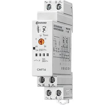 Conrad Components CMFT-6 Staircase multiway switch Multifunction 1 pc(s) Time range: 0.5 - 20 min 1 maker