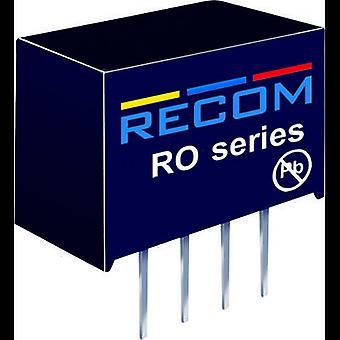 RECOM RO-2405S/P 1 W DC/DC Converter RO-2405S/P 24 V 5 V 200 mA